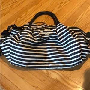 Moving sale! Kate spade striped diaper bag